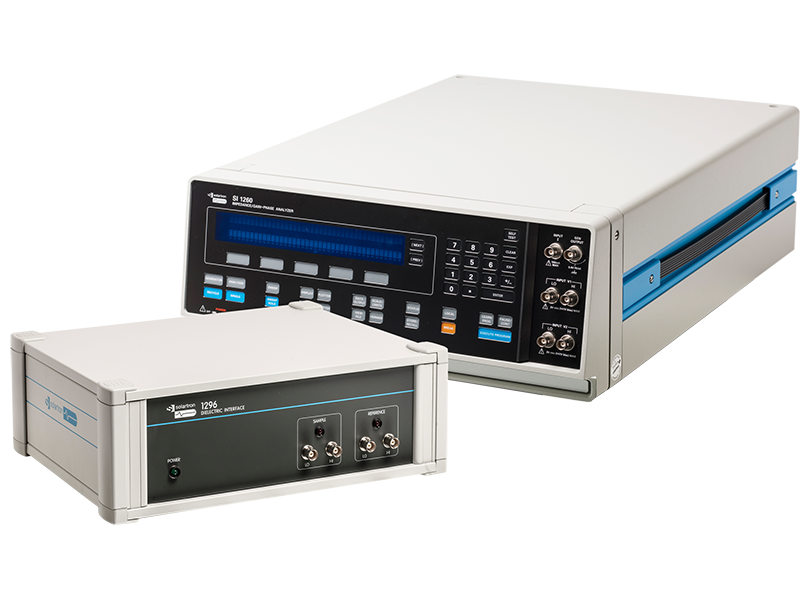 Solartron Analytical - 1296A Dielectric Interface and 1260A Impedance Analyzer - Tilt Right