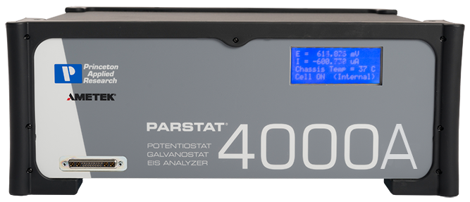 PARSTAT4000A - Front Panel