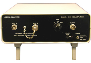 Model - 5186 Differential Voltage Preamplifier